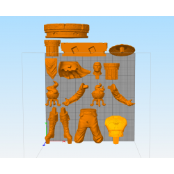 Raiden Mortal Kombat - STL 3D print files