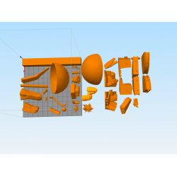 GOGETA SUPER SAYA 4 - STL 3D print files