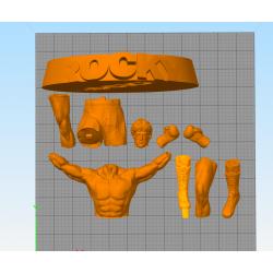 Rocky Balboa - STL Files for 3D Print