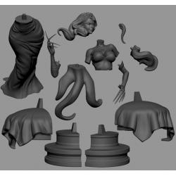 Lust Fullmetal Alchemist - STL 3D print files