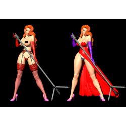 Jessica Rabbit + nfsw - STL 3D print files