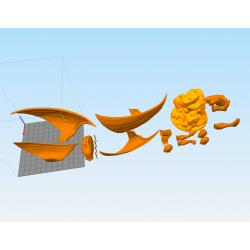 Archangel Diorama Statue - STL Files for 3D Print