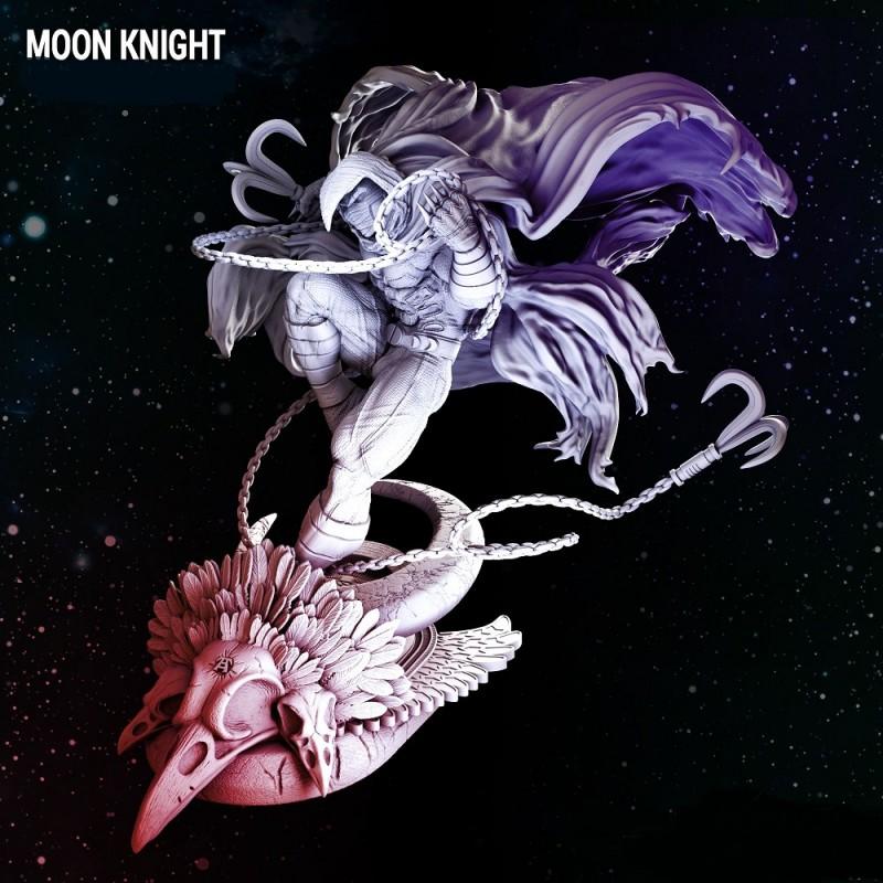 Moon Knight - STL 3D print files