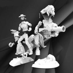 Bravestarr - STL 3D print files
