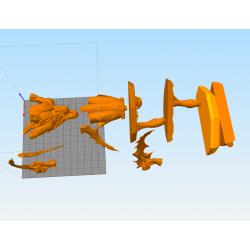 Illidan WoW - STL 3D print files