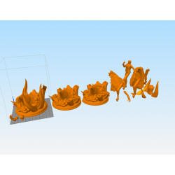 Donquixote Doflamingo One Piece - STL 3D print files