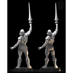 He-man battlecat diorama - STL Files for 3D Print