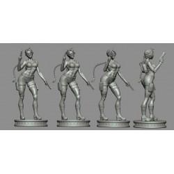 Lara Croft Tomb Raider - STL 3D print files
