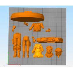 Naruto Hinata - STL 3D print files