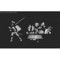 Kyojuro Rengoku - STL 3D print files