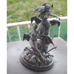 Morrigan and Lilith - STL Files for 3D Print