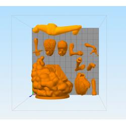 Miles Morales Spiderman - STL 3D print files