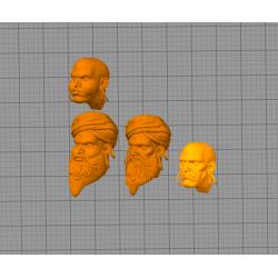 Dhalsim Street Fighter - STL 3D print files