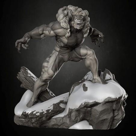 Sabertooth X-Men - STL 3D print files