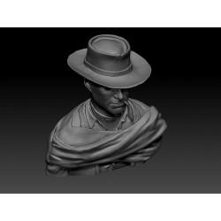 Clint Eastwood Bust - STL 3D print files