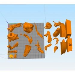 Megata no Kyojin Attack on Titan - STL 3D print files