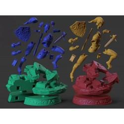 Link The Legend of Zelda - STL 3D print files