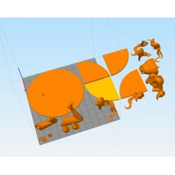 Rias High School - STL Files for 3D Print