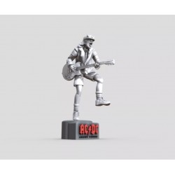 Angus Young ACDC - STL Files for 3D Print