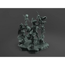 Looney DC Diorama - STL 3D print files