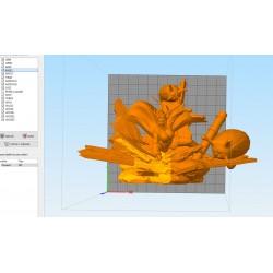 Tsunade Naruto - STL 3D print files