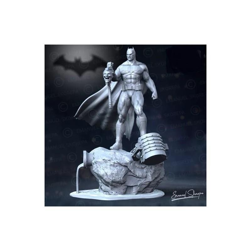 Batman Statue Lamp - STL 3D print files