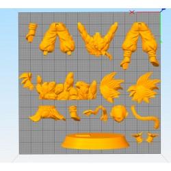 Goku GT - STL 3D print files