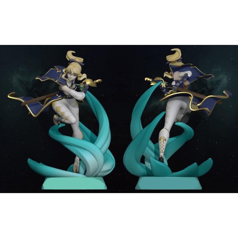 Jean Genshin Impact V1 & V2 - STL 3D print files