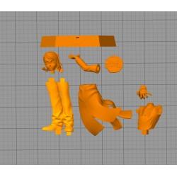 Enmu Dream Demon Slayer - STL 3D print files