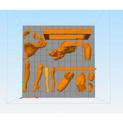 Marilyn Monroe - STL 3D print files