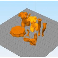 Red Riding Hood + nfsw- STL 3D print files
