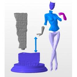 Catwoman Michelle Pfeiffer - STL 3D print files