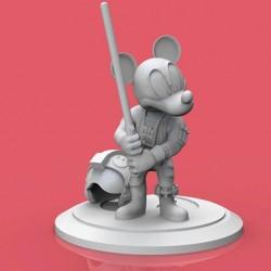 Micky Luke Skywalker - STL 3D print files