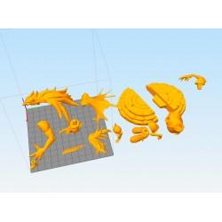 Razor - Genshin Impact - STL 3D print files