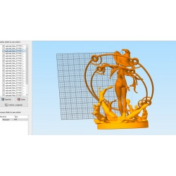 Mona - Genshin Impact - STL 3D print files