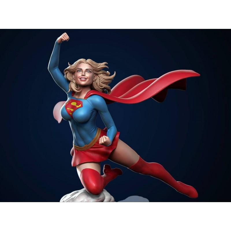Supergirl + NSFW - STL 3D print files
