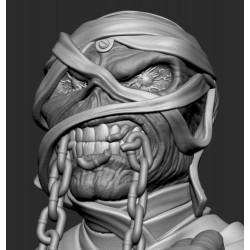 Eddie Bust Iron Maiden - 3d print stl files