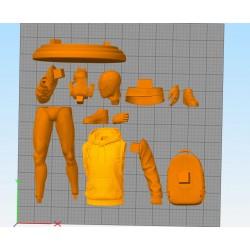 SpiderMan Miles Morales - STL 3D print files