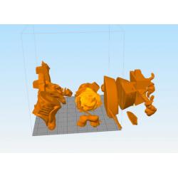 Link Epona Legend of Zelda - STL Files for 3D Print