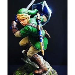 Zelda - Link Statue - STL Files for 3D Print