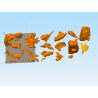 Pain and Konan (Naruto) - STL 3D print files