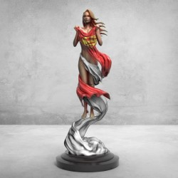 Supergirl first appearance - STL 3D print files