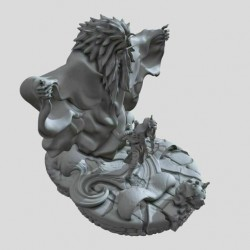 Orochimaru Shiki Fujin - STL 3D print files