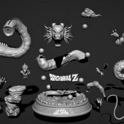 Shenron & Goku Dragon Ball Z - STL 3D print files