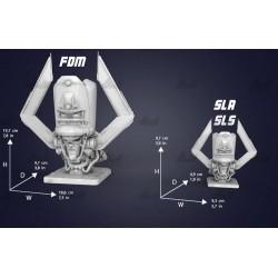 Galactus Bust - STL 3D print files