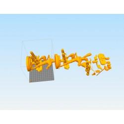 DeathStroke DC - STL 3D print files