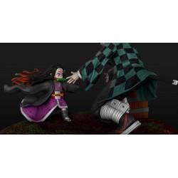Tanjiro and Nesuko - Demon Slayer - STL 3D print files