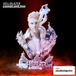 Constantine Hellblazer Bust - STL 3D print files