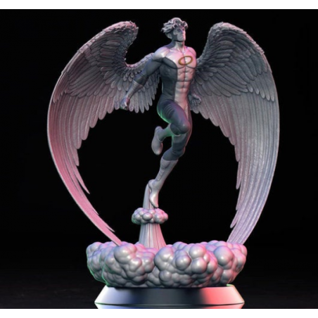 Angel X-Men (two heads) - STL Files for 3D Print