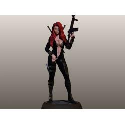 Sexy Black Widow - STL 3D print files